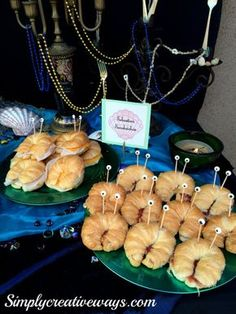 Under the Sea Party Food Menu - Simply Creative Ways