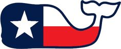 Vineyard Vines Texas Flag Whale