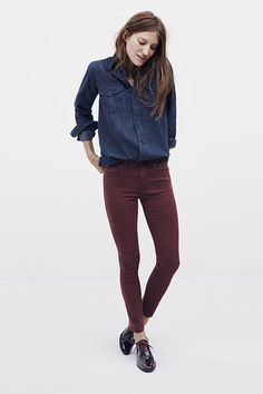 Madewell's Fall Denim Makes It Okay To Rush Through Summer #refinery29  http://www.refinery29.com/2014/07/71925/madewell-fall-denim#slide19