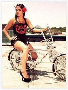 Agree, Hot lowrider girls on bikes consider, that