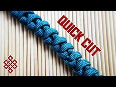 Serpent Spine Knot Paracord Tutorial Quick Cut - YouTube