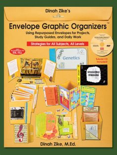 Dinah Zike's Envelope Graphic Organizers- A new(ish) book and CD from the author who brought us foldables!