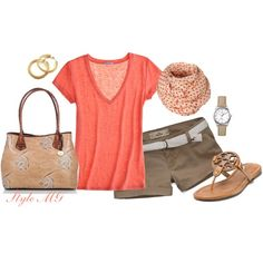 Summer comfort, created by romigr99 on Polyvore
