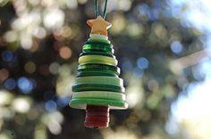 button tree, cute kids craft
