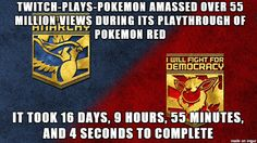 Did you contribute to the madness of TwitchPlaysPokemon?‪#‎SLGamingCon‬ ‪#‎UtahGamers‬ ‪#‎Gamers‬ ‪#‎Gaming‬ ‪#‎GamingTrivia‬‪ #‎Pokemon‬ ‪#‎Twitch‬ ‪#‎TwitchPlaysPokemon‬