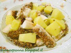 Crema e panna: Polipo con patate con Secuquick