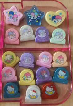 Little Twin Stars, My Melody, & Hello Kitty clips ♥ loved to collect these as a kid 90s Childhood, My Childhood Memories, Sweet Memories, 80s Kids, Sanrio Hello Kitty, Little Twin Stars, My Melody, Ol Days, Vintage Toys
