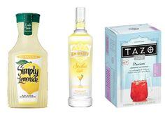 Homemade Passion Tea Lemonade  via www.hairsprayandhighheels.com
