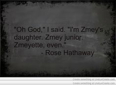 Vampire Academy Quotes | Rise Hathaway