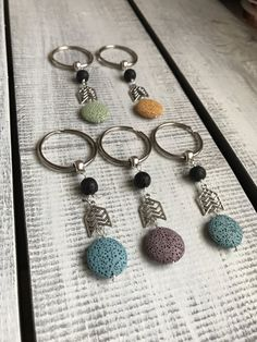 Hey, I found this really awesome Etsy listing at https://www.etsy.com/ca/listing/496614388/keychain-lava-stone-keychain-diffuser