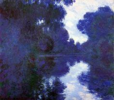 1897 Claude Monet Morning on the Seine,clear weather Flickr - Photo Sharing