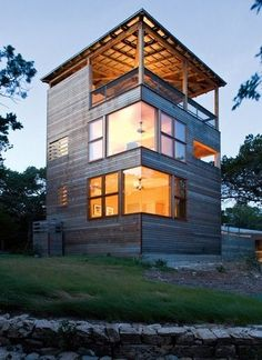 "The ""Tower house"" by Andersson Wise architects."