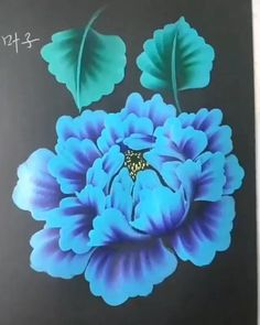Checkout this link for collection of paint brushes Canvas Painting Tutorials, Diy Canvas Art, Painting Techniques, Painting Patterns, Acrylic Painting Flowers, Easy Flower Painting, One Stroke Painting, Flower Art, Flower Canvas