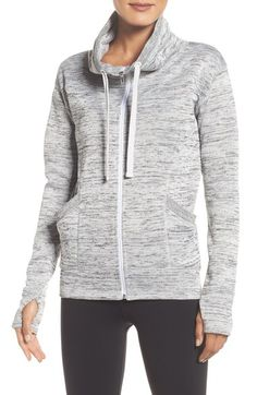 Main Image - Zella 'Cozy to the Core' Sweater Jacket