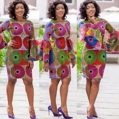 """When looking to describe Ankara fashion the first word that comes to mind is """"bold"""". The African inspired fashion prints notoriously kn..."""