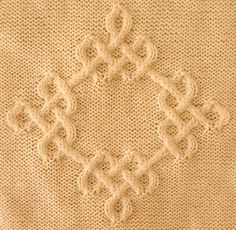 Ravelry: Celtic Diamond (#04) pattern by Devorgilla's Knitting (sometimes...)