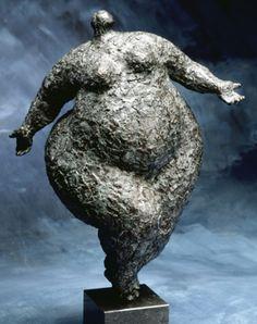 Wim Heesakkers - Gleichgewicht XXI - 2002 is love Pottery Sculpture, Bronze Sculpture, Abstract Sculpture, Lion Sculpture, Statue, Plus Size Art, Fat Art, Sculptures Céramiques, Paperclay