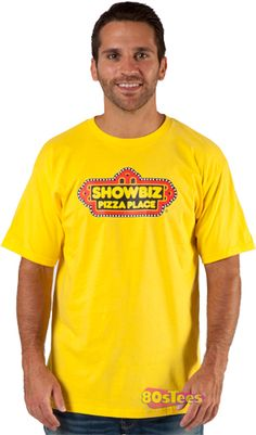 We loved going to Showbiz Pizza Place when we were kids.  It was so much better than Chuck E Cheese, and the band was better.  We missed it so much we got the shirt.