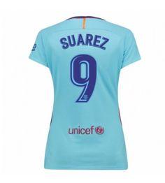 Barcelona Luis Suarez 9 Bortatröja Dam 17-18 Kortärmad Neymar, Messi, Fc Barcelona, Sports, Hs Sports, Sport