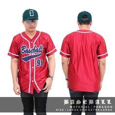 Jersey Baseball  ada 5 warna guys :) Bahan Jersey premium  Yakin nyaman dipakai  Size M L  ( yang dipakai model L )  Harga Satuan Rp.110.000 Belum termasuk Ongkir  Contact for order: Line @Dstoregrosir ( Pake @ di depan ) CS1 Pin: 54bc4222 & WA 0878-2225-8573 Cs 3 pin : 5C85AB1F dan WA 087822985415 #DstoreGrosir #Stokterbatas  #grosirbandung #grosirjaket #grosircelana #grosirkaos #jaketmurah #jaketparka #jaketsweater #jaketfleece #jaketparasit #celanamurah #celanajeans #celanajoger…