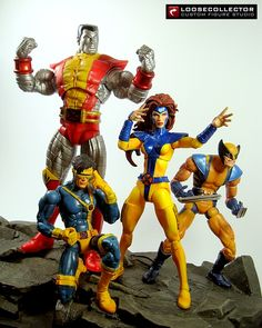 Loosecollector Custom Action Figures Official Website: Jean Grey Jim Lee style