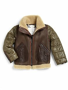 Boys Sheepskin Jacket - JacketIn