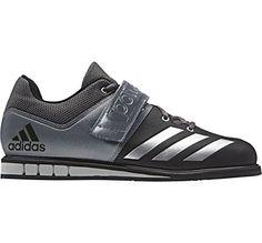 adidas Performance Men's Powerlift.3 Cross-Trainer Shoe, Black/Metallic Silver/Neo Iron Metallic Fabric, 11.5 M US