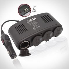 5 in 1 Car Charger – 4 port 12V DC Auto Socket « Holiday Adds