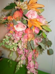 cascading wedding bouquets | Photo Gallery - Photo of a Hand Tied Cascade Bouquet
