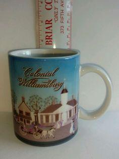 Colonial Williamsburg Collectible Coffee Tea Mug Cup Travel Souvenir