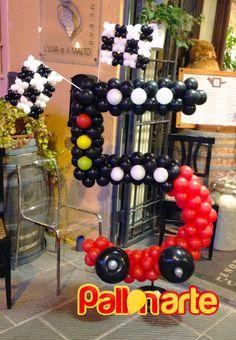 Cars balloon decor palloncini