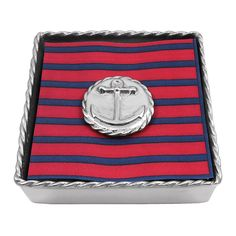 Mariposa Anchor Napkin Box