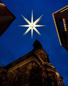 Germany An eight foot 'Herrnhut Star' is illuminated during a light check on the Striezel Market in Dresden, Germany, on Nov. The edition of the market opens on Nov. 28 and will be open for visitors until Dec. Merry Christmas To You, German Christmas, Blue Christmas, Christmas Pictures, Christmas Lights, Christmas Time, Christmas Markets, Christmas Ideas, Xmas