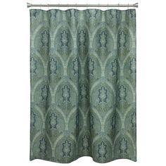 Carnation Home Fashions Silent Night Nativity Scene Christmas Fabric Shower Curtain