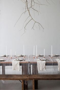 How To Drape Reception Table Linen / Sunday Suppers