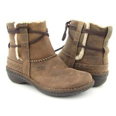 Ugg Australia Cove Winter Fashion - Ankle Boots Brown Womens - http://authenticboots.com/ugg-australia-cove-winter-fashion-ankle-boots-brown-womens/