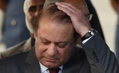 "Prime Minister Nawaz Sharif was at the centre of a political storm today after three of his children were named in the 'Panama Papers' as having ""offshore holdings"", prompting the opposition to demand a probe even as his family denied any wrongdoing."