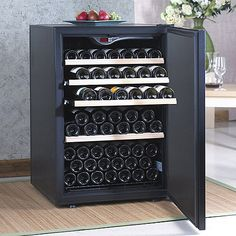EuroCave Comfort 101 Wine Cellar (1-Temp) (Black - Solid Door) (Outlet B) at Wine Enthusiast - $1,299.00