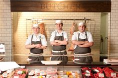 Butchers at The Food Store, Claremorris