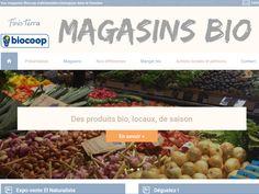 Finisterra ce sont des magasins Biocoop d'alimentation biologique du Finistère