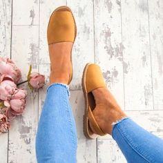 Colors Slip on Espadrilles Flip Flop Sandals - JustFashionNow.com