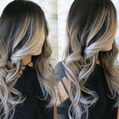 #balayage #blonde #chocolate #brunette #curls #longhair #beautiful #hairtips…