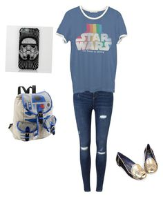 """""""The force of Star Wars awakens"""" by m-arabi ❤ liked on Polyvore featuring beauty, Miss Selfridge, Junk Food Clothing and Irregular Choice"""