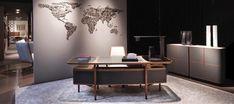 Giorgetti, made in Italy: Mogul desk, Baron chair & Moore sideboard by Roberto Lazzeroni. #giorgetti #picoftheday #madeinitaly #italiandesign #italy #design #architecture #interiordesign #richnesst #desk #writingdesk #chair #armchair #sideboard #robertolazzeroni #raulberberdelarenal #duomorichnesst #followme #instagram #furniture #italianfurniture #raulberber #raulbearbear