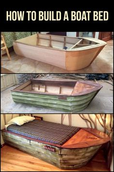 Who says beds can't be both stylish and functional? This boat bed will make your kid so happy!
