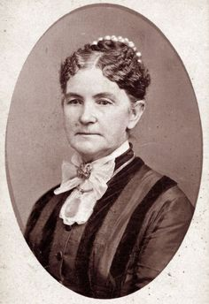 Adaline Couzins, who worked as a nurse for the Ladies Union Aid Society and traveled to the front lines. She suffered frostbite while assisting wounded soldiers in southwest Missouri in American Civil War, American History, Daughter Of The Regiment, Historical Society, Historical Women, Civil War Photos, History Museum, Women In History, Civilization