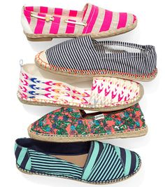 Graphic Espadrilles: The Perfect, Patterned Alternative to Flip-Flops