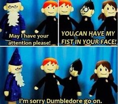 Can't get over Harry potter puppet pals this is so funny omg