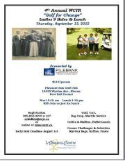 $th annual Golf for Change