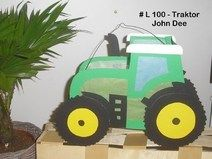 Laterne St. Martin Traktor (3 - 5 Jahre)